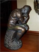 Resin Sculpture Rodin The Thinker