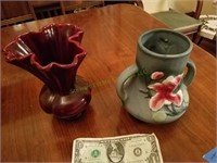 (2) Pottery Pieces