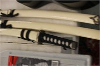 Lot of 3 Swords with Sheaths