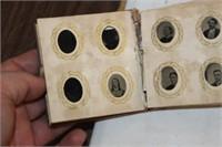 Vintage Book of Tin Type Photos