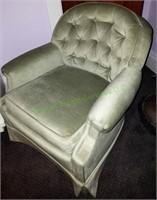 Light Green Sitting Chair