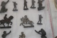 Lot of Vintage Metal Toys