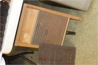 Vintage Silver King Wash Board