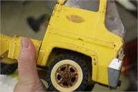 Vintage Tonka Car Hauler Tractor & Trailer