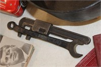 Vintage Ford Wrench & Adjustable Wrench