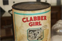 Vintage Clabber Girl Baking Powder Can