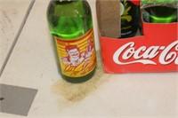 Lot of Dale Earnhardt Collector Sundrop Bottles,