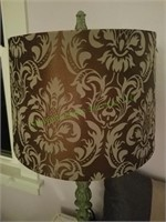 Vintage Lamp With Decorative Pillows