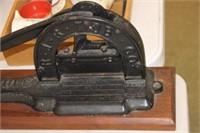 Antique Brown's Mule Tobacco Cutter
