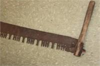 Antique Cross Cut Saw