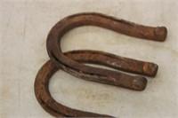 2 Vintage Horse Shoes