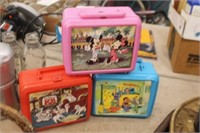 3 Lunchboxes