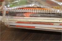 Lot of Guitar Books