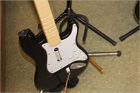 Lot 2 Guitars & 3 Stands,No Strings