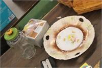 Gorham Bowl,Vintage Plate,etc