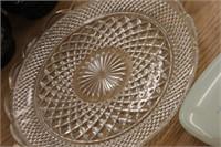 Glass Platter & Norelco Razor