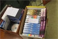 Lot of Blank DVD,VHS,Dics,External DVD Drive,etc