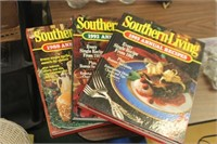Lot of Southern Living Cookbooks