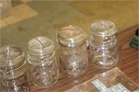 Lot of Atlas Jars & Candle Holderr