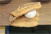 Ball Glove & Softball