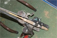 Lot of Fish Rods & Reels