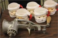 Santa Cups & Grinder