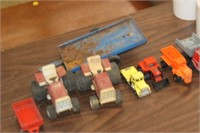Lot of Vintage Toy Cars,Tractors,etc