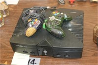 Xbox Console with Controllers,Untested