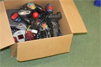 Lot of Gaming Controllers