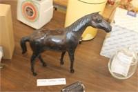 Vintage Leather Horse