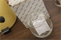 Princess House Glass Jar with Lid