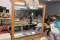 35.5x35.5 Framed Mirror