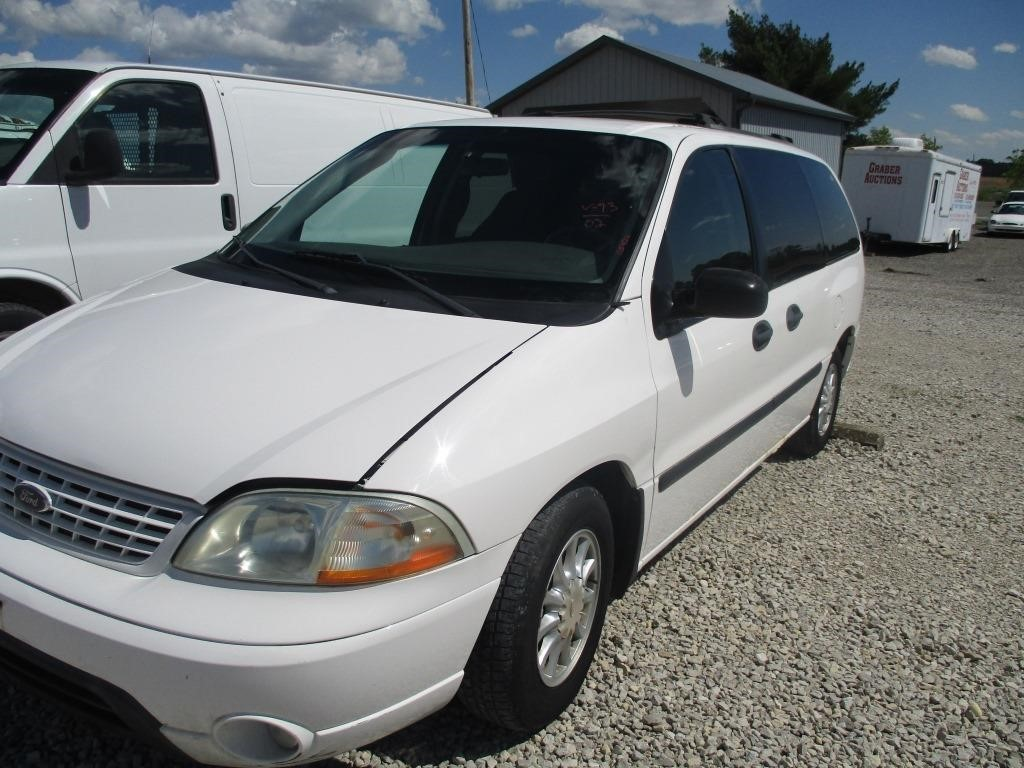 2002 ford windstar lx graber auctions graber auctions