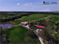 HOME ON 68 ACRES, BERRYTON, KS