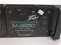Peavey M-2600 Mark V Series Stereo Power Amplifier