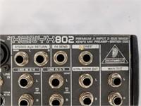 Xenyx 802 Premium 8 Input 2 Bus Mixer