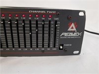 Peavey Q215FX Dual 15 Band Graphic Equalizer W FLS
