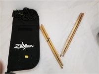 Pearl Snare Drum W/ Drum Sticks Carrying Case