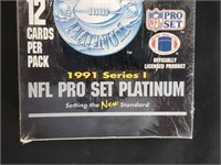 1991 Series 1 NFL Pro Set Platinum Football Cards