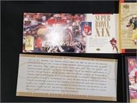 1995 UD Joe Montana Career Football Card Set