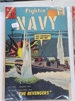 (5) Vintage Navy Marines Steve Zodiac Comic Books