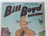 Bill Boyd Western Comic Book #1 Bullion Bandits
