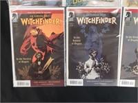 Super Power Hyperion & Witchfinder Comics #1-5