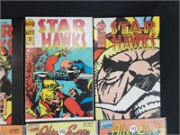 Star Hawks & Alter Ego Comic Books #1-4