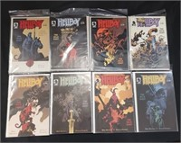 Hellboy The Wild Hunt #1-8 Comic Books