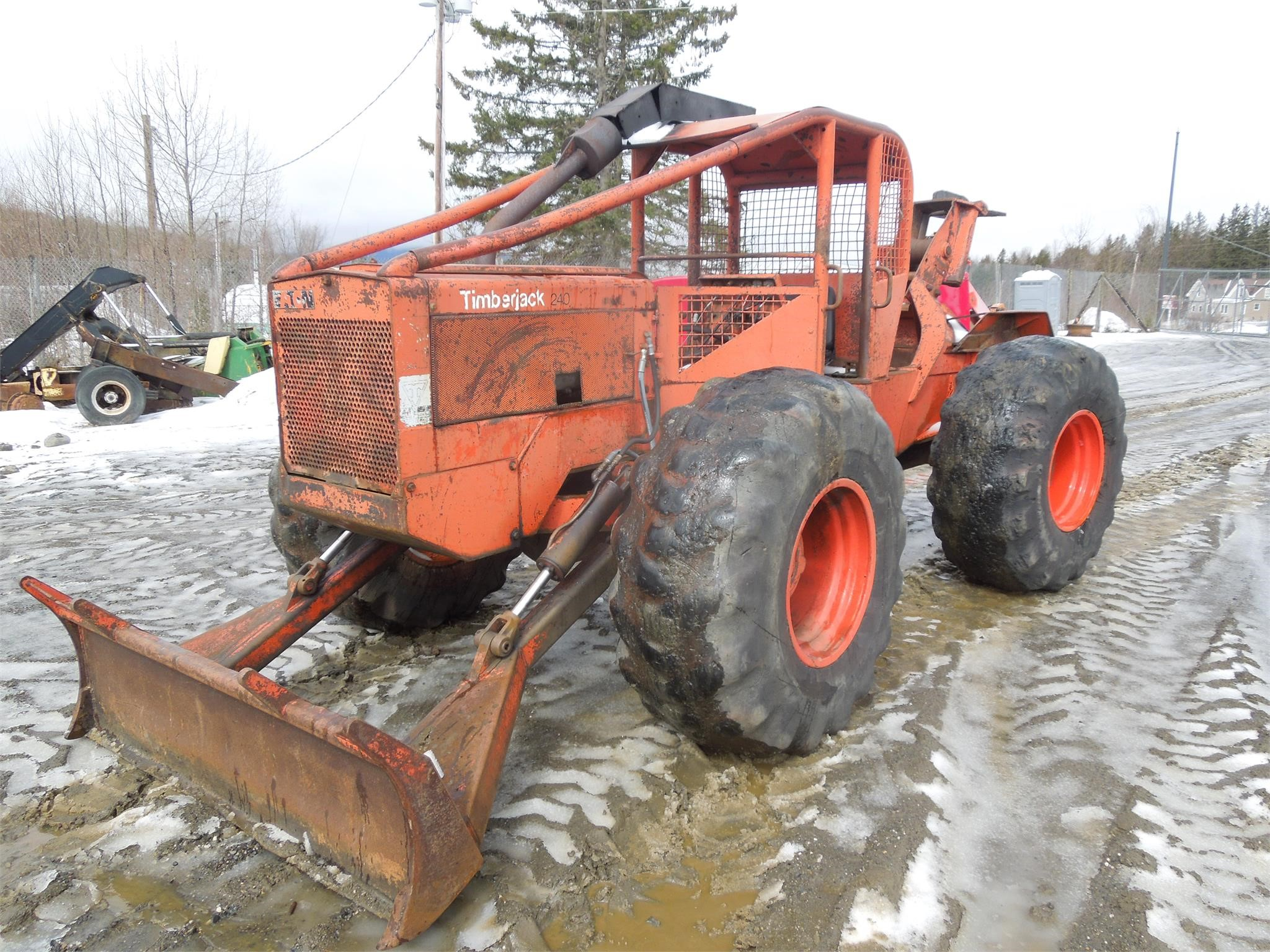 1979 TIMBERJACK 240 For Sale in Colebrook, New Hampshire