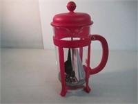 Bodum Java French Press Coffee Maker, Medium, Red