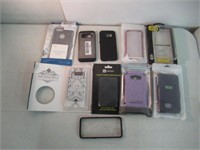Lot of (10) Various Phone Cases