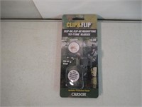 Carson Clip and Flip 2x Power Magnifying Lens