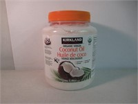 2.3kg./ 84oz./ COCONUT OIL. Certified Organic.